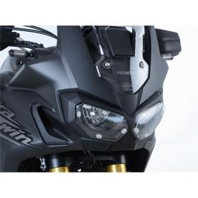 Ecran de protection feu avant R&G RACING translucide Honda Africa Twin 1000
