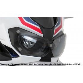 Ecran de protection feu avant R&G RACING translucide Kawasaki ER6N