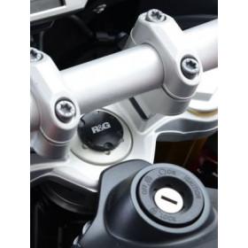 Insert ecrou de direction R&G RACING noir BMW S1000XR