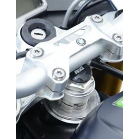 Insert ecrou de direction R&G RACING noir Kawasaki ZX10R