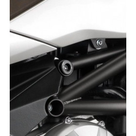 Insert de cadre (haut) R&G RACING noir MV Agusta Brutale 675/800
