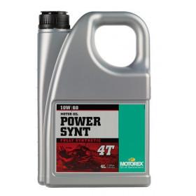 Huile moteur MOTOREX Power Synth 4T 10W60 synthétique 4L