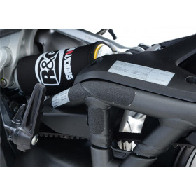 Adhésif anti-frottement R&G RACING protection repose-pieds passager noir 4 pièces Ducati XDiavel/XDiavel S
