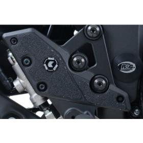 Adhésif anti-frottement R&G RACING cadre noir 4 pièces Kawasaki Versys 1000