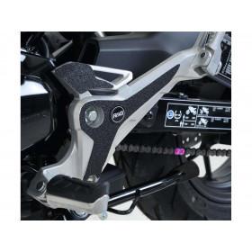 Adhésif anti-frottement R&G RACING platine repose-pieds noir 4 pièces Honda MSX125