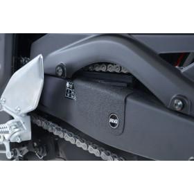 Adhésif anti-frottement R&G RACING bras oscillant/protection silencieux noir 2 pièces Yamah YZF-R3