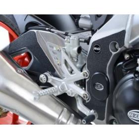 Adhésif anti-frottement R&G RACING cadre/bras oscillant noir 5 pièces Aprilia