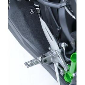 Adhésif anti-frottement R&G RACING bras oscillant/protection silencieux noir 3 pièces Kawasaki H2/H2R