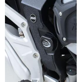 Adhésif anti-frottement R&G RACING cadre noir 2 pièces MV Agusta Stradale 800