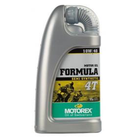 Huile moteur MOTOREX Formula 4T 10W40 semi-synthétique 1L
