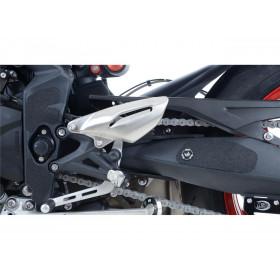 Adhésif anti-frottement R&G RACING cadre/bras oscillant noir 6 pièces Triumph Street Triple RX