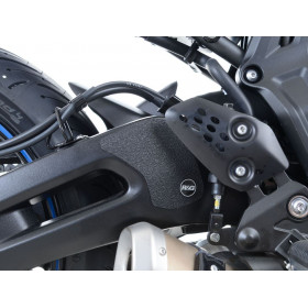 Kit protection de cadre R&G RACING noir Yamaha Tracer 700 (2 pièces)
