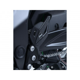 Adhésif anti-frottement R&G RACING platine talon noir (5 pièces) Suzuki GSX-S750
