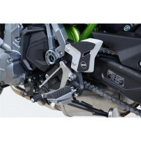 Adhésif anti-frottement R&G RACING platine talon noir (2 pièces) Kawasaki Z650