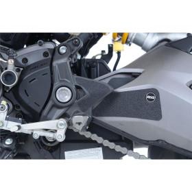 Adhésif anti-frottement R&G RACING repose-pieds passager noir (4 pièces) Ducati Monster 1200S