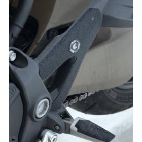 Adhésif anti-frottement R&G RACING platine talon noir (2 pièces) Ducati Monster