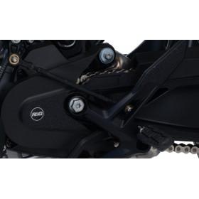 Kit protection de cadre R&G RACING noir (3 pièces) KTM 390 Duke