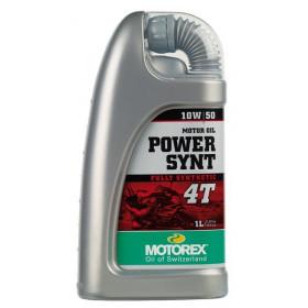 Huile moteur MOTOREX Power Synth 4T 10W50 synthétique 1L