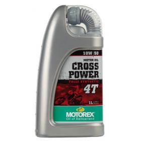 Huile moteur MOTOREX Cross Power 4T 10W50 synthétique  1L