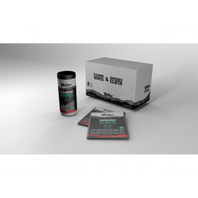 Pack Lingettes nettoyantes BIHR Multi-usages Promo 5 + 1 Gratuit  Carton de 6 Boîtes de 50  lingettes et 6 microfibres