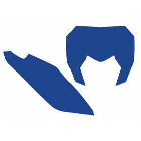 Fonds de plaque BLACKBIRD bleu Sherco SE/SE-F