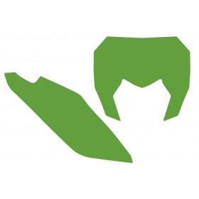 Fonds de plaque BLACKBIRD vert Sherco SE/SE-F