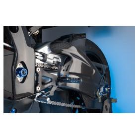 Garde boue arrière LIGHTECH carbone brillant Suzuki GSX-R1000
