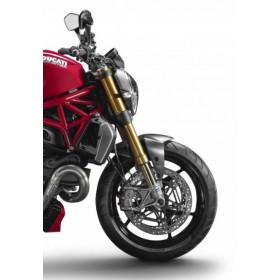 Garde boue avant LIGHTECH carbone mat Ducati Monster 1200