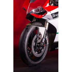 Garde boue avant LIGHTECH carbone brillant Ducati Panigale