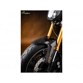 Garde boue avant LIGHTECH carbone brillant Yamaha Mt-09