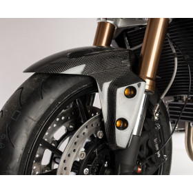 Garde boue avant LIGHTECH carbone brillant Triumph Speed Triple 1050