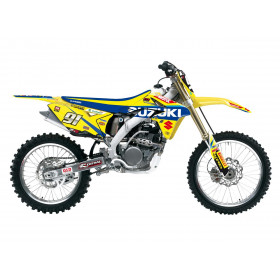 Kit déco de cache radiateur BLACKBIRD Replica Suzuki World MXGP 2017 Suzuki RM-Z250
