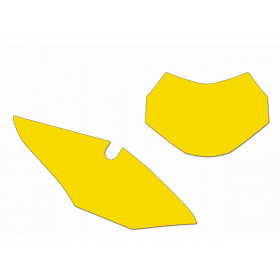 Fonds de plaque BLACKBIRD jaune Honda CRF450RX