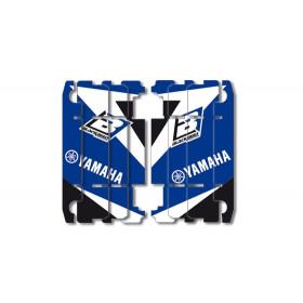 Kit déco de cache radiateur BLACKBIRD Dream Graphic 3 bleu Yamaha YZ125/250