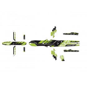 Kit déco BLACKBIRD Trial Traction Graphics Vertical/Combat