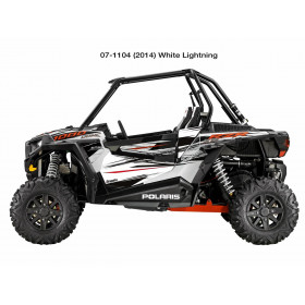 Déco de porte DRAGONFIRE blanc Polaris RZR1000 XP