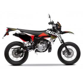 Kit deco KUTVEK Yasuni Factory rouge/noir MBK X-Limit/Yamaha DT50