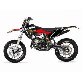 Kit deco KUTVEK Yasuni Factory rouge/noir Sherco SM50