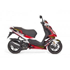 Kit deco KUTVEK Yasuni Factory rouge/noir Peugeot Speedfight