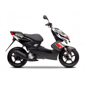 Kit deco KUTVEK Yasuni Factory rouge/blanc MBK Nitro/Yamaha Aerox 50
