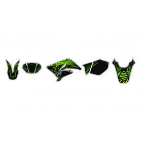Kit déco Graff vert Kutvek MBK X-Limit