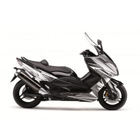 Kit déco Velocity Kutvek blanc/noir Yamaha T-Max 500