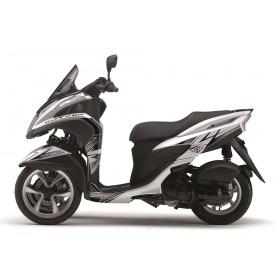 Kit déco Velocity Kutvek blanc/noir Yamaha Tricity 125
