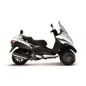 Kit déco Velocity Kutvek blanc/noir Piaggio MP3 125/250/400/500