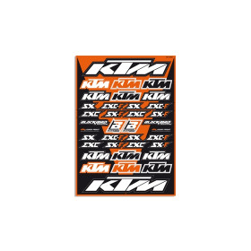 Planche de stickers BLACKBIRD KTM