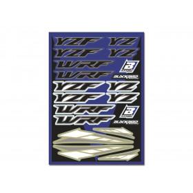 Planche de stickers BLACKBIRD Yamaha