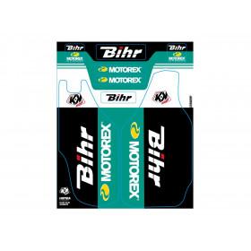 Kit de déco de fourche Bihr/Motorex KUTVEK HONDA CRF 250/450