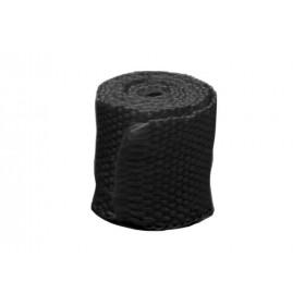 Bande thermique collecteur ACOUSTA-FIL 50mm x 7,5m 550°C noir
