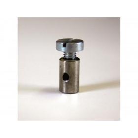 Douille de cable cylindrique 6x10mm Venhill zinc 20 pièces