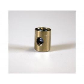 Douilles de cable cylindrique 5.5 x 7.2mm Venhill laiton 20 pièces